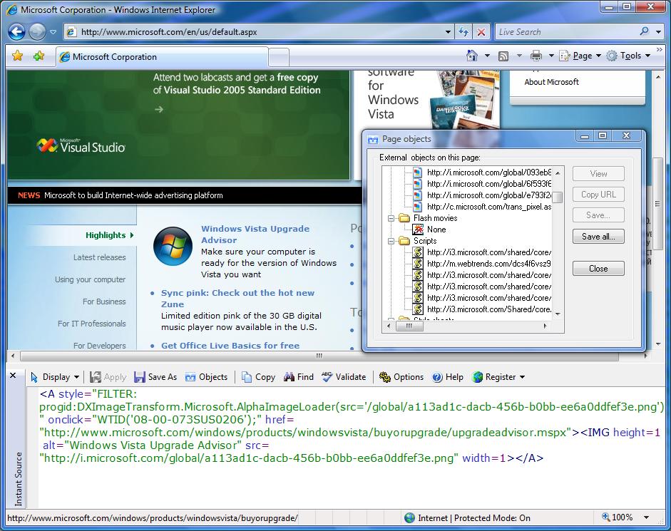 BlazingTools Instant Source full screenshot